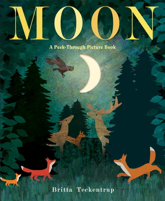 Moon: A Peek-Through Picture Book Cover Image