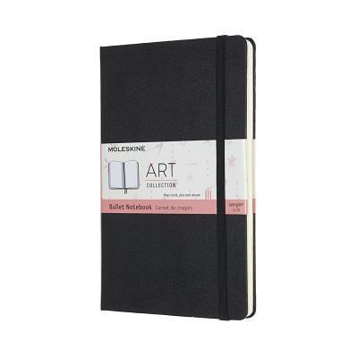 Moleskine Art Logbook Notebook, Large, Black (5 x 8.25) Cover Image