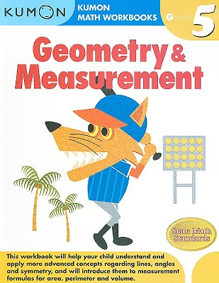 Geometry & Measurement, Grade 5 (Kumon Math Workbooks) Cover Image