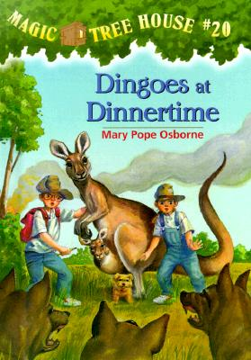 Magic Tree House #20: Dingoes at Dinnertime Cover Image