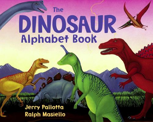 The Dinosaur Alphabet Book Cover