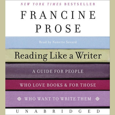 Cover for Reading Like a Writer