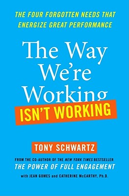 The Way We're Working Isn't Working Cover