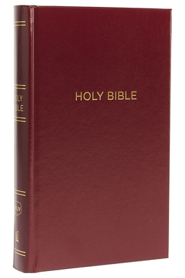 NKJV, Reference Bible, Personal Size Giant Print, Hardcover, Burgundy, Red Letter Edition, Comfort Print Cover Image