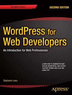Wordpress for Web Developers Cover