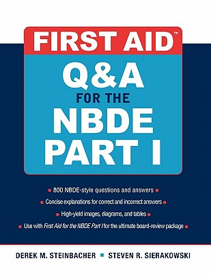 First Aid Q&A for the Nbde Part I Cover Image