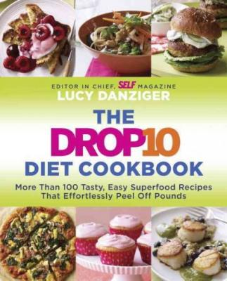 The Drop 10 Diet Cookbook Cover