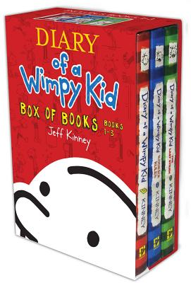 Diary of a Wimpy Kid Box of Books, Books 1-3 Cover