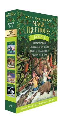 Magic Tree House Volumes 5-8 Boxed Set (Magic Tree House (R)) Cover Image
