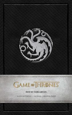 Game of Thrones: House Targaryen Ruled Notebook Cover Image