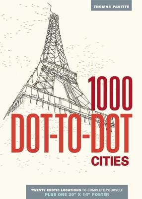 1000 Dot-to-Dot: Cities Cover Image