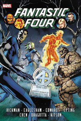 Fantastic Four by Jonathan Hickman Omnibus Volume 1 Cover