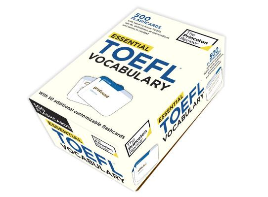 Essential TOEFL Vocabulary (flashcards) Cover Image