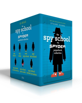The Spy School vs. SPYDER Paperback Collection: Spy School; Spy Camp; Evil Spy School; Spy Ski School; Spy School Secret Service; Spy School Goes South; Spy School British Invasion Cover Image