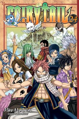 Fairy Tail V24 Cover