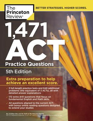1,471 ACT Practice Questions, 5th Edition cover image
