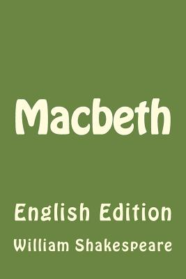 Macbeth: English Edition Cover Image