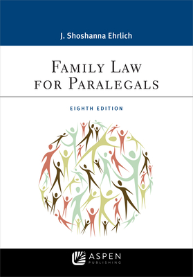 Family Law for Paralegals (Aspen Paralegal) Cover Image
