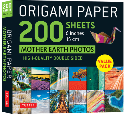 Origami Paper 200 Sheets Mother Earth Photos 6