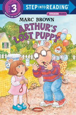 Arthur's Lost Puppy [With Stickers] Cover