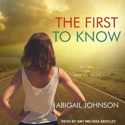 The First to Know Cover Image