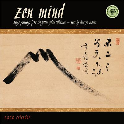 Zen Mind 2020 Wall Calendar: Zenga Paintings from the Gitter-Yelen Collection Cover Image