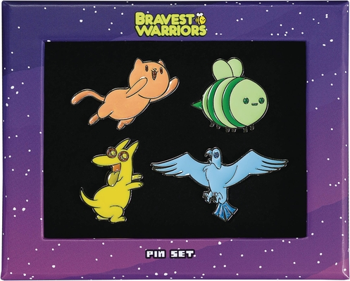 Bravest Warriors Enamel Pin Set Cover Image