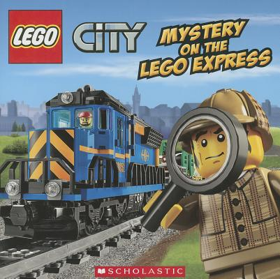 Mystery on the LEGO Express (LEGO City) Cover Image