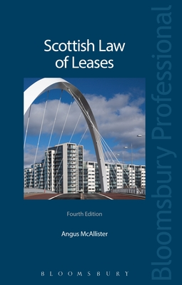 Scottish Law of Leases: Fourth Edition Cover Image