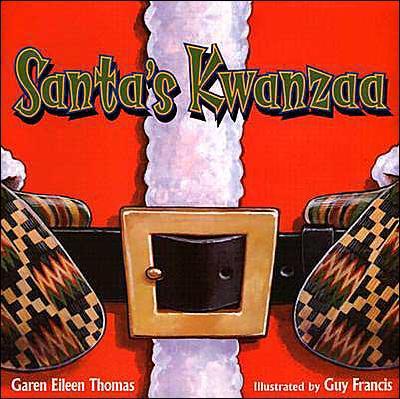 Santa's Kwanzaa Cover