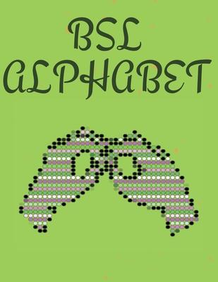 BSL Alphabet. British Sign Language Cover Image