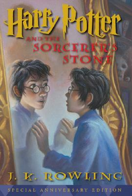 Harry Potter And The Sorcerers Stone - 10th Anniversary Edition Cover Image