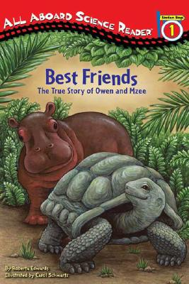 Best Friends: The True Story of Owen and Mzee (Penguin Young Readers, Level 2) Cover Image