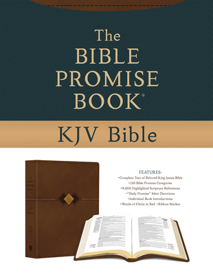 The Bible Promise Book KJV Bible [Hickory Diamond] Cover Image