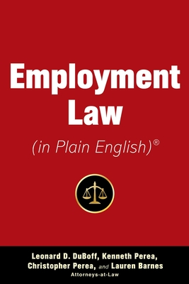 Cover for Employment Law (in Plain English)