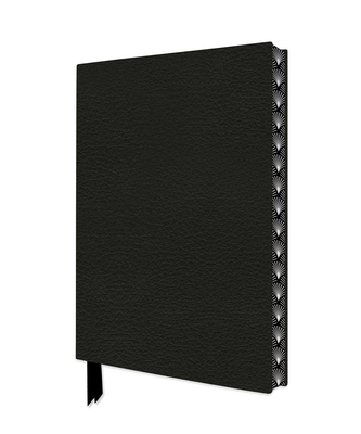 Ebony Black Artisan Notebook (Flame Tree Journals) (Artisan Notebooks) Cover Image