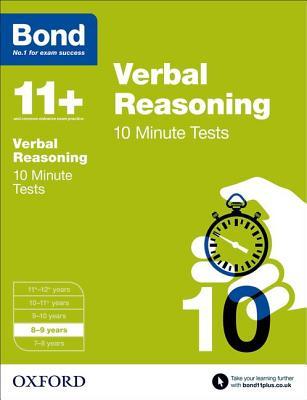 Bond 11+: Verbal Reasoning: 10 Minute Tests Cover Image