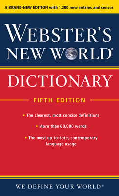 Webster's New World Dictionary, Fifth Edition Cover Image