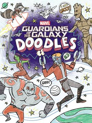 Guardians of the Galaxy Doodles Cover