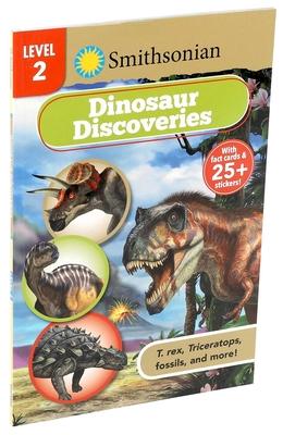 Smithsonian Reader Level 2: Dinosaur Discoveries (Smithsonian Leveled Readers) Cover Image