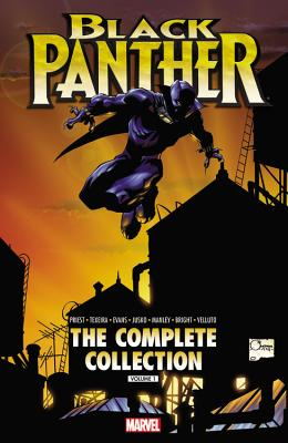 Black Panther by Christopher Priest: The Complete Collection Volume 1 Cover Image