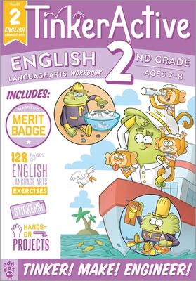 TinkerActive Workbooks: 2nd Grade English Language Arts Cover Image