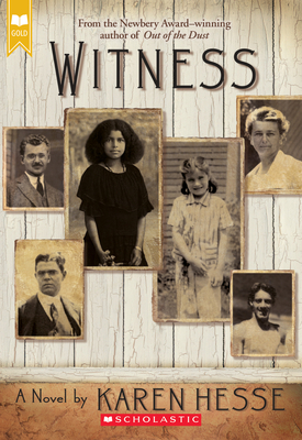 Witness (Scholastic Gold) Cover Image