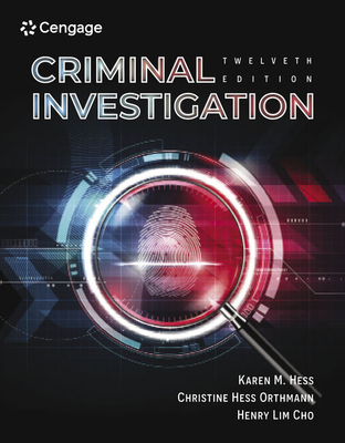 Criminal Investigation cover