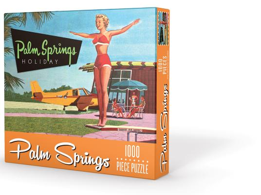 Palm Springs Holiday Puzzle Cover Image