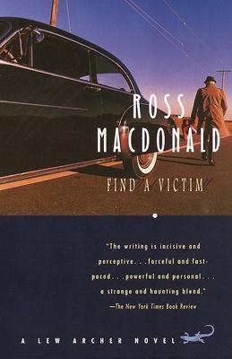 Find a Victim: A Lew Archer Novel (Lew Archer Series #5) Cover Image