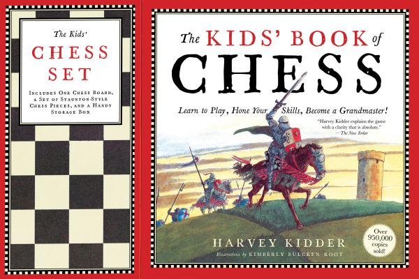 The Kids' Book of Chess and Chess Set Cover Image