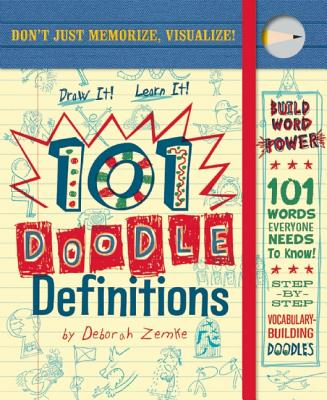 101 Doodle Definitions [With Pens/Pencils] Cover