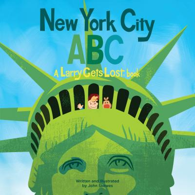 New York City ABC: A Larry Gets Lost Book Cover Image