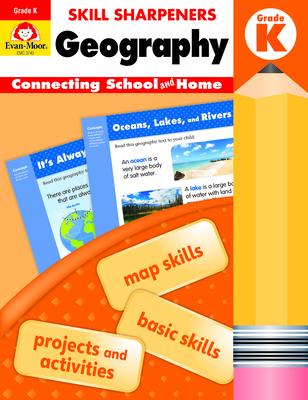 Skill Sharpeners Geography, Grade K Cover Image